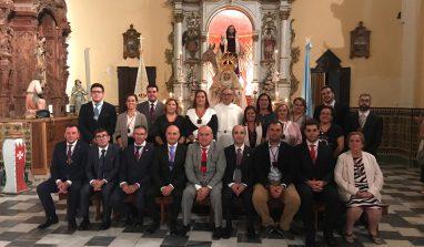 Nueva Junta de Gobierno de la Hermandad de la Borriquita